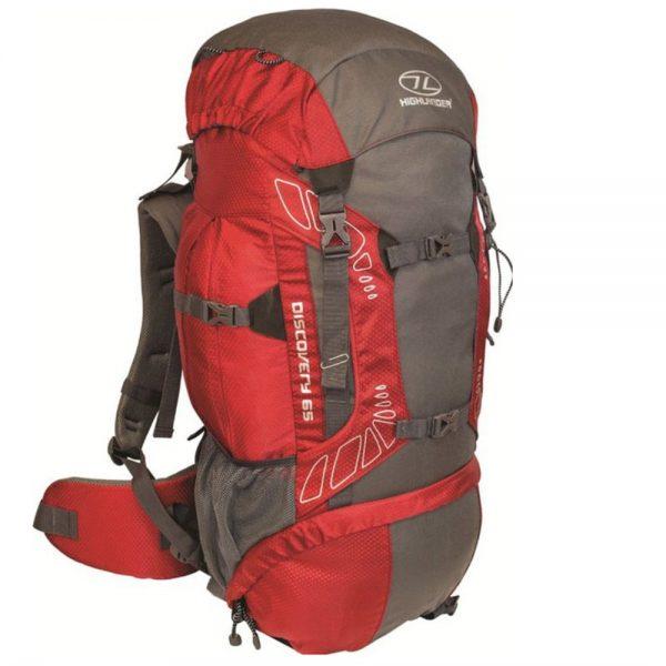 Highlander Discovery rygsæk rød