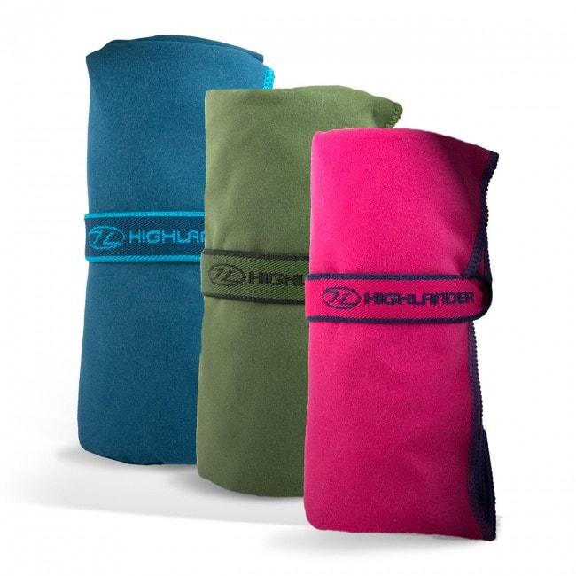 Hurtigtørrende håndklæde