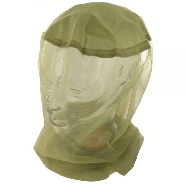 myggenet til hovedet