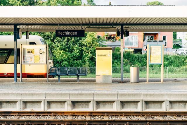 togstation i Tyskland